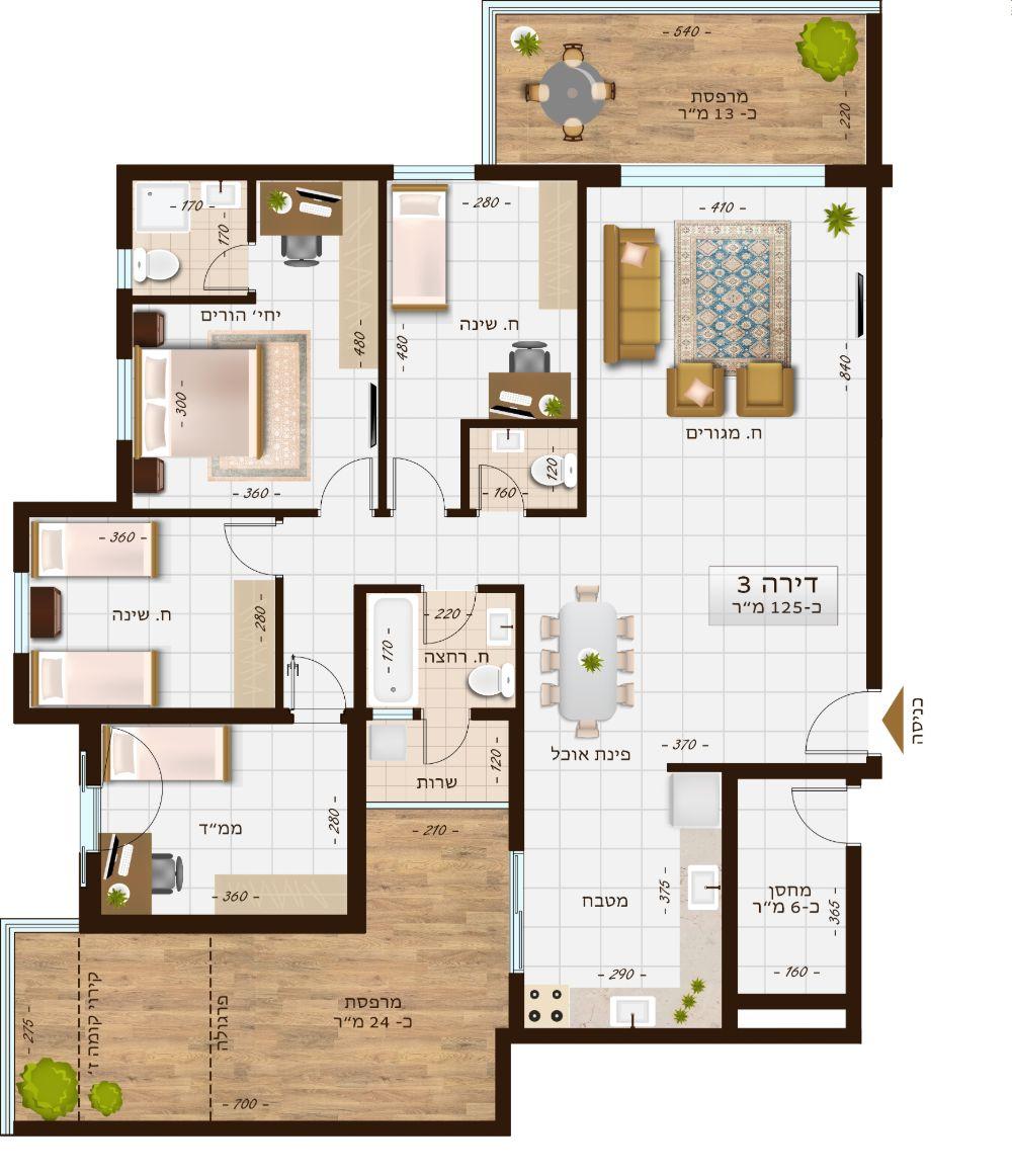 בניין 1106 דירה 3