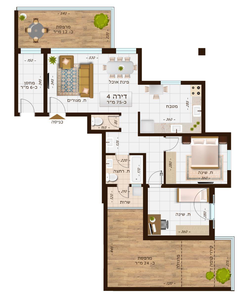 בניין 1106 דירה 4