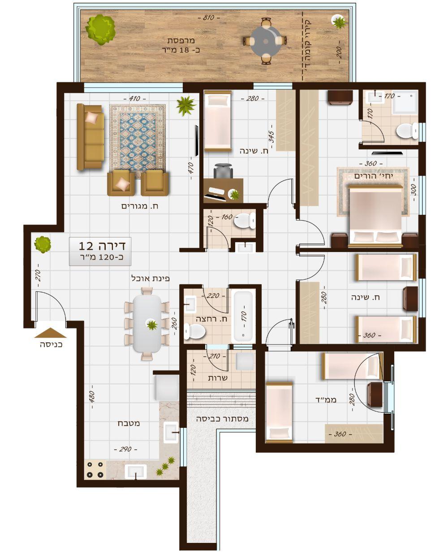 בניין 1107 דירה 12
