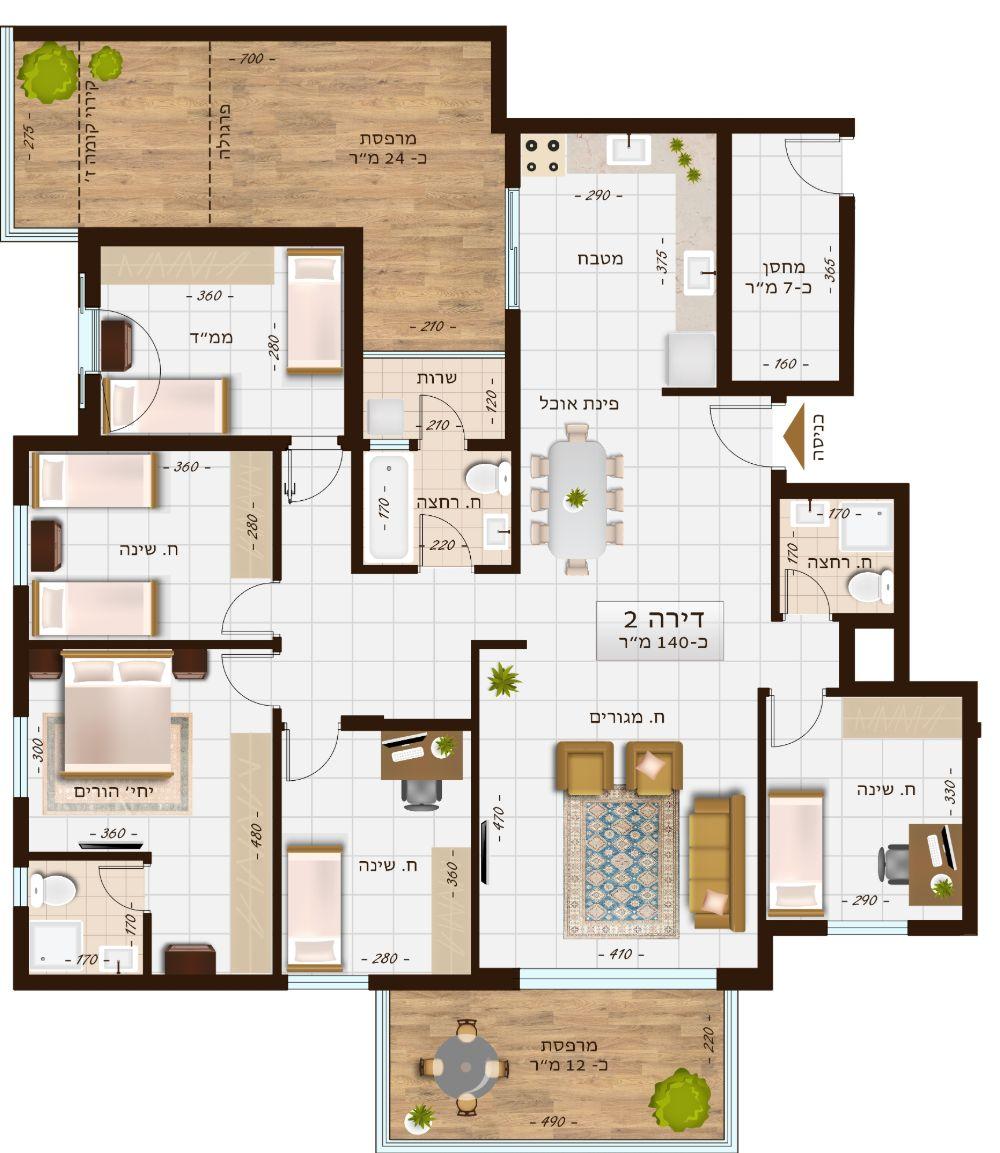 בניין 1107 דירה 2