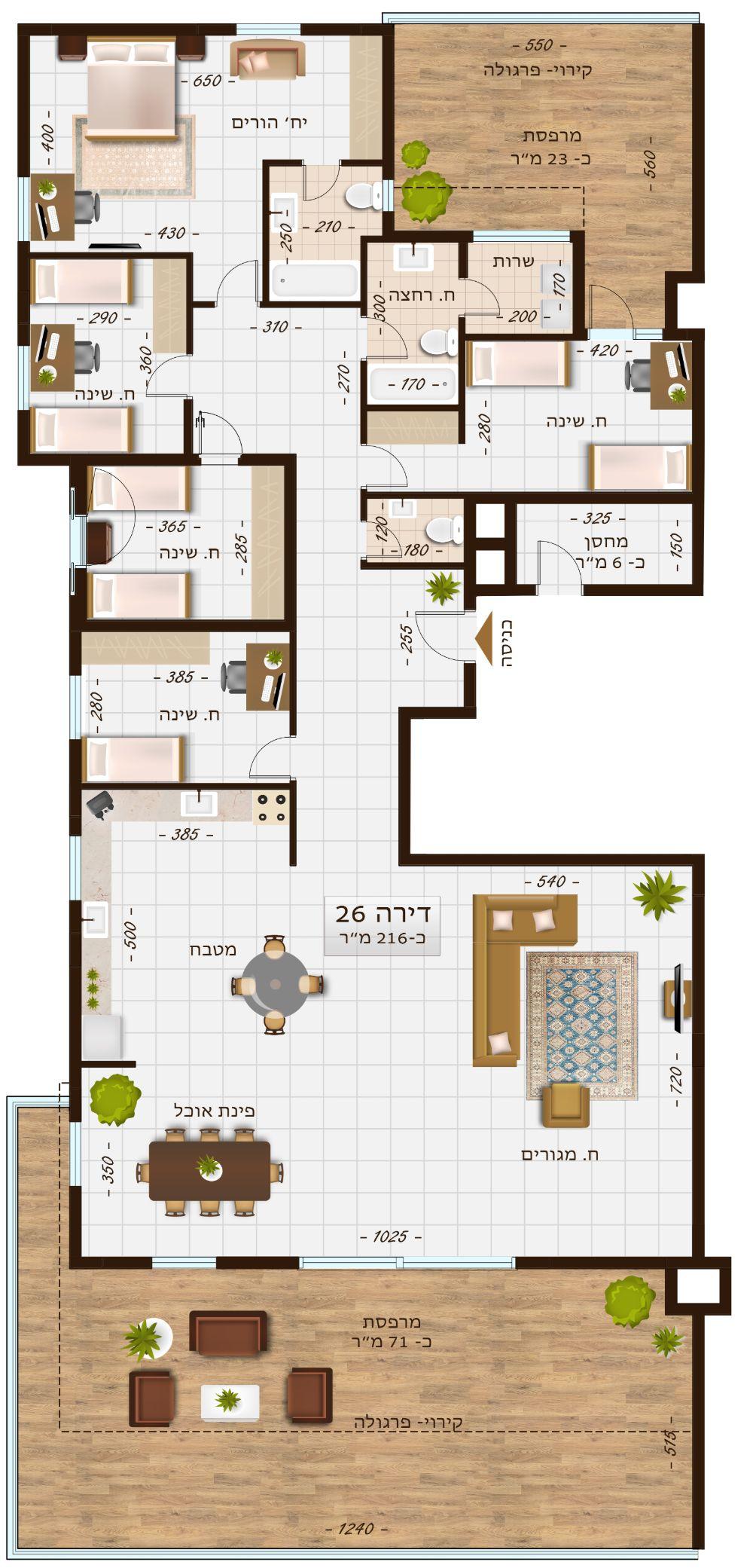 בניין 1107 דירה 26