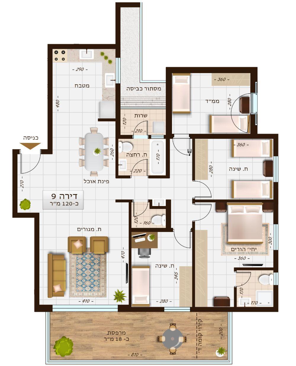 בניין 1107 דירה 9